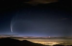 Comet Mc Naught Over Santiago