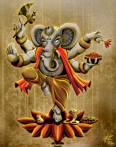 Ganesha_Pillaiyaar_Art_Work_Indian_Gods_Hinduism_Elephant_Face