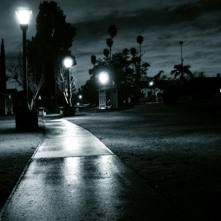 park-in-dark-after-rain