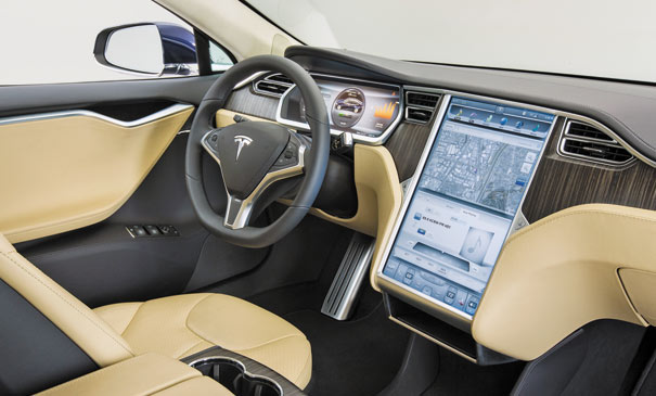 Tesla_Touchscreen_Computer_Monitor_17_Inch_Dsiplay_Knobs