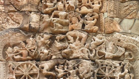 Ramayana_war_Sculptures_Art_angkor_Wat_Hinduism