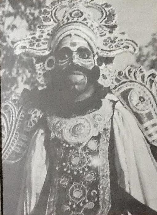Indian_Tamil_Folk_Artists_Thampiran_Kannappa_Koothu_theru_Performers