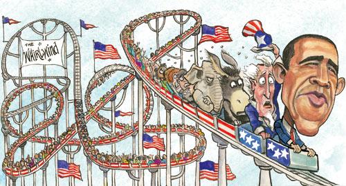 America_USA_Barak_Obama_Barack_President_GOP_Donkey_Elephant_Democrats