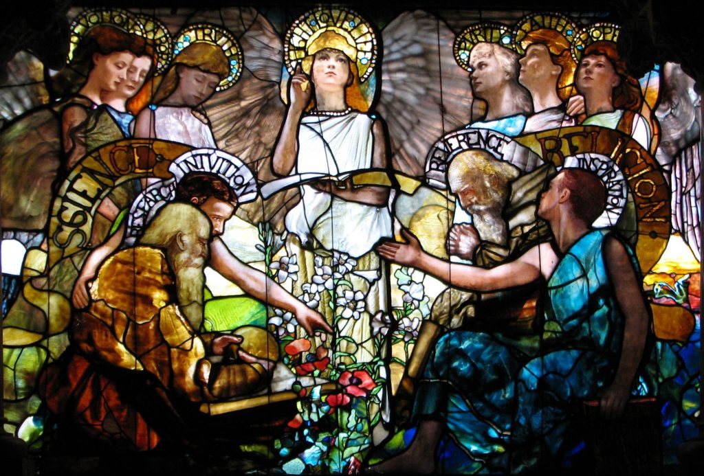 Religion_Science_History_Christianity_Tiffany_Education_Glass_Stained