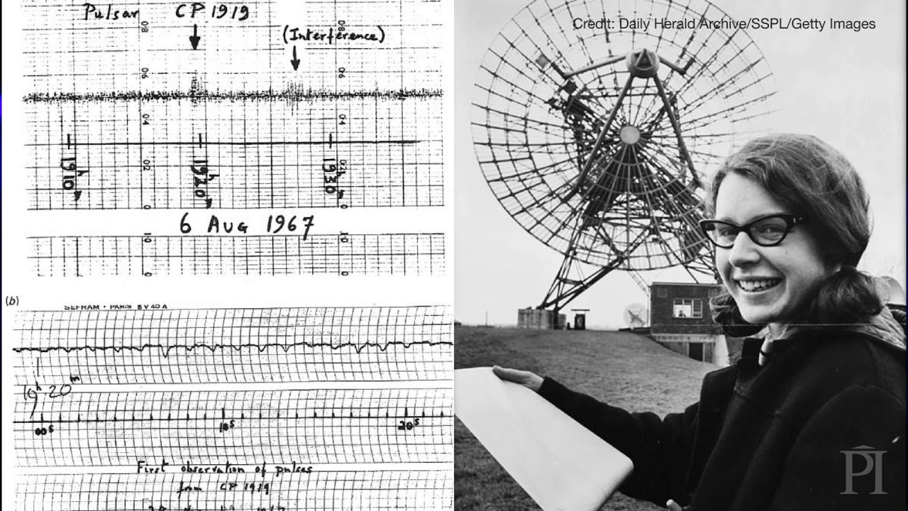 Jocelyn Bell Burnell describes how she discovered pulsars